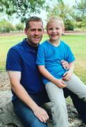 Dad & Lil Man